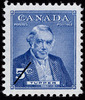 Original title:  Tupper [document philatélique].  Philatelic issue data Canada : 5 cents Date of issue 8 novembre 1955