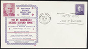 Titre original :  [Richard Bennett] [philatelic record].  Philatelic issue data 4 cents