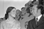 Titre original :  Rt. Hon. Pierre Elliott Trudeau and Margaret Trudeau.