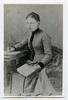 Original title:  Margaret Addison, young woman. Image courtesy of Victoria University Archives (Toronto, Ont.).