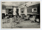Original title:  The sitting room, Annesley Hall. 1910? Image courtesy of Victoria University Archives (Toronto, Ont.).