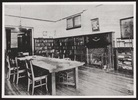 Original title:  The library. 1910? Image courtesy of Victoria University Archives (Toronto, Ont.).