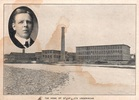 Original title:  John Stanfield and factory. Image courtesy of Stanfield's Ltd., Truro, Nova Scotia.