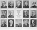 Titre original :    Description: Sir John A. Macdonald; Alexander Mackenzie; Sir John Abbott; Sir John Thompson; Sir MacKenzie Bowell; Sir Charles Tupper; Sir Wilfrid Laurier; Sir Robert L. Borden; Arthur Meighen; W.L. Mackenzie King; R.B. Bennett; Louis St. Laurent; John G. Diefenbaker; Lester B. Pearson Restrictions on use/reproduction: Nil Copyright: Expired Credit: Library and Archives Canada / C-011415 Source:  This image is available from Library and Archives Canada under the reproduction reference number C-011415 and under the MIKAN ID number 3193326 This tag does not indicate the copyright status of the attached work. A normal copyright tag is still required. See Commons:Licensing for more information. Library and Archives Canada does not allow free use of its copyrighted works. See Category:Images from Library and Archives Canada.