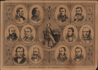 Titre original :  The New Cabinet of the Dominion of Canada, 1878.