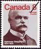 Titre original :  Alphonse Desjardins, 1854-1920 [philatelic record].  Philatelic issue data Canada : 8 cents Date of issue 30 May 1975
