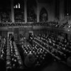 Original title:  P.M. Diefenbaker introducing President Kennedy to the House of Commons.