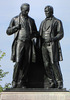 Original title:    Description English: Statue of Robert Baldwin and Louis-Hippolyte Lafontaine by Walter Seymour Allward, Parliament Hill, Ottawa, Ontario, Canada Date 11 February 2010(2010-02-11) Source Own work Author D. Gordon E. Robertson