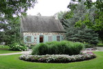 "Original title:    Description English: La Fontaine House (1766) where Louis-Hippolyte Lafontaine lived in his childhood, De La Broquerie park, Boucherville, province of Quebec, Canada. Français : Maison La Fontaine, habitée par Louis-Hippolyte Lafontaine durant son enfance. Elle fut érigée en 1766 et classée monument historique en 1965. Elle est située dans le parc De La Broquerie à Boucherville, province de Québec, Canada. Date 7 August 2009(2009-08-07) Source Own work Author Bernard Gagnon  Camera location 45° 35' 57.23"" N, 73° 27' 26.87"" W This and other images at their locations on: Google Maps - Google Earth - OpenStreetMap (Info)45.599230555556;-73.457463888889"