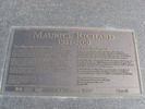 Original title:    Description Plaque de la statue de Maurice Richard à Gatineau (Québec) Date 16 August 2006(2006-08-16) Source photo prise par moi Author User:Digging.holes Permission (Reusing this file) Servez-vous