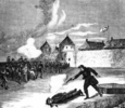 Titre original :    The execution of Thomas Scott, 1870. Source Archivia.net (Archives Canada)  This image is available from Library and Archives Canada This tag does not indicate the copyright status of the attached work. A normal copyright tag is still required. See Commons:Licensing for more information. Library and Archives Canada does not allow free use of its copyrighted works. See Category:Images from Library and Archives Canada.