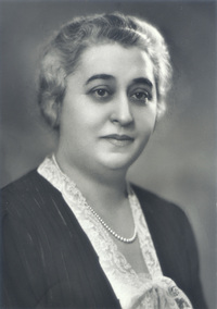 Original title:  Lillian Bilsky Freiman, c. late 1920s/early 1930s. Image courtesy of Alex Dworkin Canadian Jewish Archives/ Archives juives canadiennes Alex Dworkin. Photographer: Paul Horsdal of Ottawa.