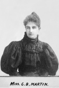 "Original title:  ""Clara Brett Martin '96 (1874-1923)""  Source: http://digitalcommons.osgoode.yorku.ca/catalysts/7/  This work is licensed under a Creative Commons Attribution-Noncommercial-No Derivative Works 4.0 License."