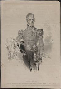 Titre original :  Major General Sir Howard Douglas Baronet, K.C.S. C.B. F.R.S. &c.&c.