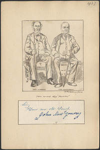 Original title:  John Anderson and John Montgomery, two of the 1837 'patriots'.