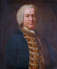 Titre original :    Description English: Rear-Admiral Charles Holmes (1711-1761) oil on canvas 76 x 63.5 cm after 1758 Date after 1758 Source Royal Museums Greenwich Author British School of the 18th century