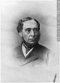 Original title:  Photograph Henry Starnes, Montreal, QC, 1871 William Notman (1826-1891) 1871, 19th century Silver salts on paper mounted on paper - Albumen process 8 x 5 cm Purchase from Associated Screen News Ltd. I-67709.1 © McCord Museum Keywords:  male (26812) , Photograph (77678) , portrait (53878)