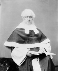 Titre original :  The Hon. Mr. Justice John Wellington Gwynne, (Puisne Judge, Supreme Court of Canada)