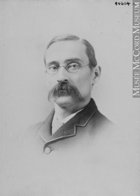 Titre original :  Photograph Dr. Burgess, Montreal, QC, 1891 Wm. Notman & Son 1891, 19th century Silver salts on paper mounted on paper 13.6 x 9.8 cm Purchase from Associated Screen News Ltd. II-94664.1 © McCord Museum Keywords:  male (26812) , Photograph (77678) , portrait (53878)