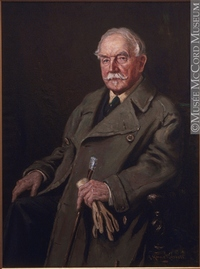 Titre original :  Painting Mr. Hayter Reed George Russell 1900-1925, 20th century Oil on canvas 100.8 x 75.1 cm Gift of Reed Gordon M965.97.4 © McCord Museum Keywords:  male (26812) , Painting (2229) , painting (2226) , portrait (53878)