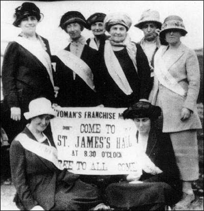 Original title:  Newfoundland and Labrador Suffragists, ca. 1920s